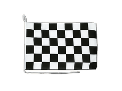 Checkered - Boat Flag 12x16""