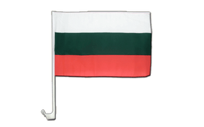 Bulgaria - Car Flag 12x16""