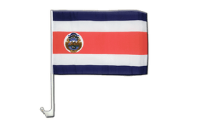 Costa Rica - Car Flag 12x16""