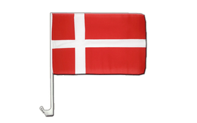 Denmark - Car Flag 12x16""