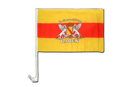 Baden with crest - Car Flag 12x16""