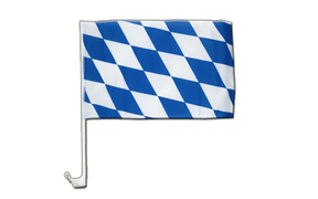 Bavaria without crest - Car Flag 12x16""