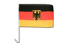 Germany Dienstflagge Car Flag - 12x16""