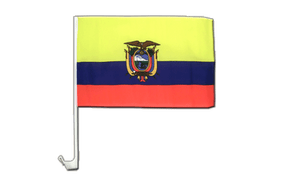 Ecuador - Car Flag 12x16""