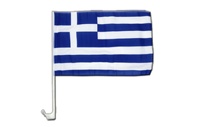 Greece Car Flag - 12x16""