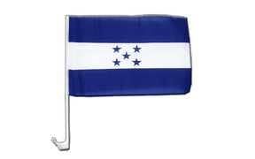 Honduras - Car Flag 12x16""