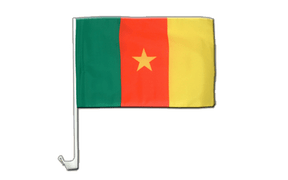 Cameroon - Car Flag 12x16""
