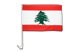Lebanon - Car Flag 12x16""