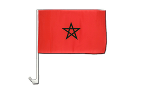 Morocco - Car Flag 12x16""