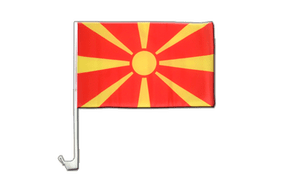 Macedonia Car Flag - 12x16""