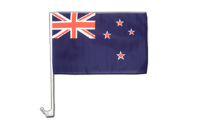 New Zealand - Car Flag 12x16""