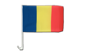 Rumania - Car Flag 12x16""