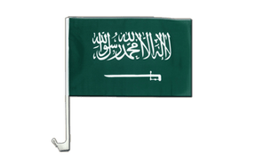 Saudi Arabia - Car Flag 12x16""