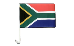 South Africa Car Flag - 12x16""