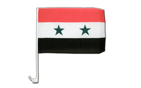 Syria - Car Flag 12x16""