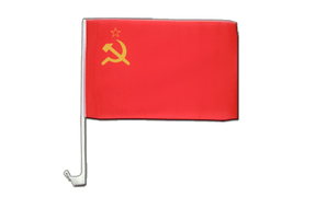 Car Flag USSR Soviet Union - 12x16""