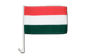 Hungary - Car Flag 12x16""