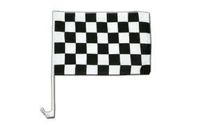 Car Flag Checkered - 12x16""