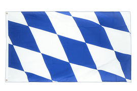 Bavaria without crest - 5x8 ft Flag