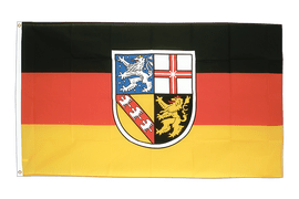Large Saarland Flag - 5x8 ft