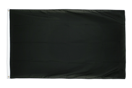 Large Flag black - 5x8 ft