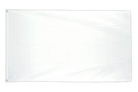 Large Flag white - 5x8 ft
