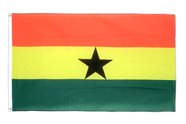 Large Ghana Flag - 5x8 ft