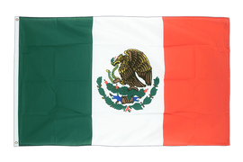 Mexico - 5x8 ft Flag
