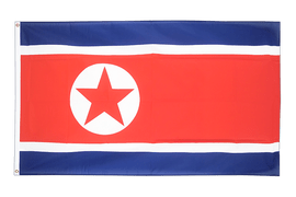 Large North corea Flag - 5x8 ft