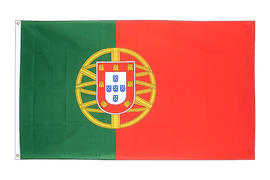 Grand drapeau Portugal - 150 x 250 cm