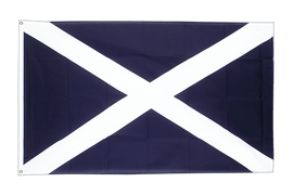 Large Scotland navy Flag - 5x8 ft