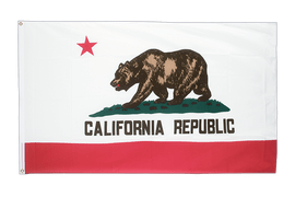 California - 5x8 ft Flag