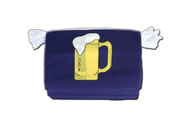 Beer - Flag Bunting 6x9""
