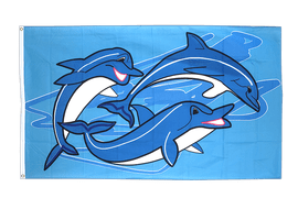 Oceanic dolphins - 3x5 ft Flag