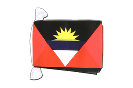 Antigua and Barbuda - Flag Bunting 6x9""
