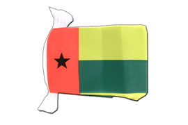 Guinea-Bissau - Flag Bunting 6x9""