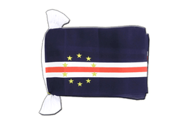 Cape Verde - Flag Bunting 6x9""