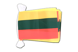 Lithuania - Flag Bunting 6x9""