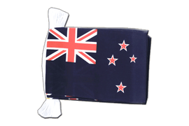 New Zealand Flag Bunting - 6x9""