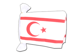 North Cyprus - Flag Bunting 6x9""