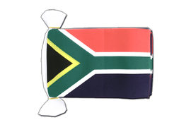 South Africa - Flag Bunting 6x9""