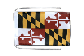 Maryland - Flag with ropes 8x12""