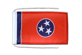 Tennessee - Flag with ropes 8x12""