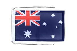 Australia - Flag with ropes 8x12""