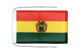 Bolivia - Flag with ropes 8x12""