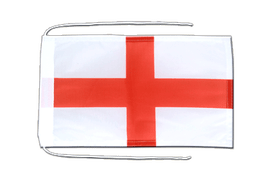 Flag with ropes England St. George - 8x12""