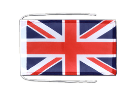 Great Britain - Flag with ropes 8x12""