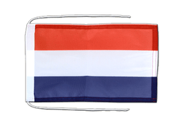 Netherlands - Flag with ropes 8x12""