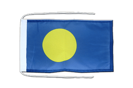 Flag with ropes Palau - 8x12""