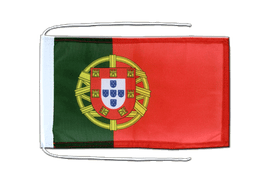 Portugal - Flag with ropes 8x12""